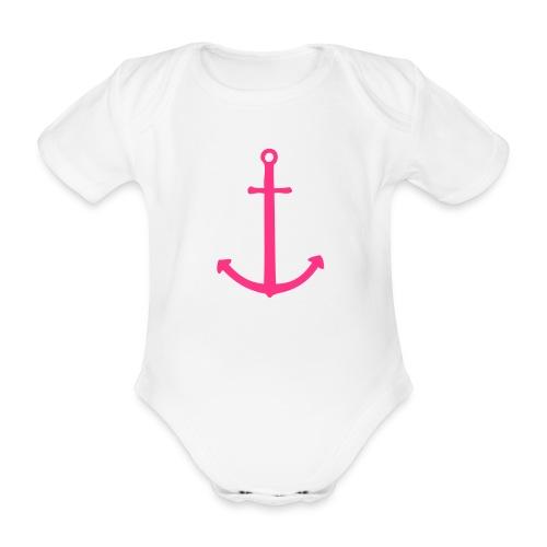 Anker - Baby Bio-Kurzarm-Body