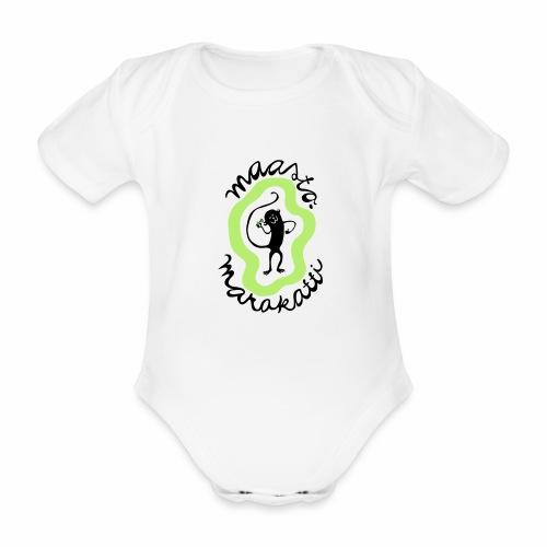 Maastomarakatti - Vauvan lyhythihainen luomu-body