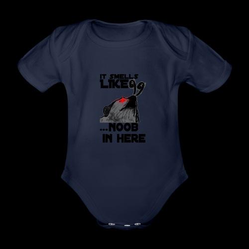 Noob Gaming Gamer Pro - Baby Bio-Kurzarm-Body