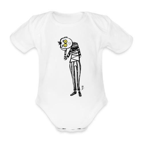 Punto di Vista - Body ecologico per neonato a manica corta