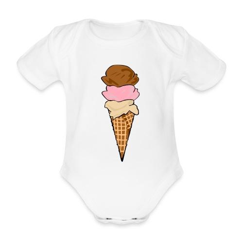 6456456 - Baby Bio-Kurzarm-Body