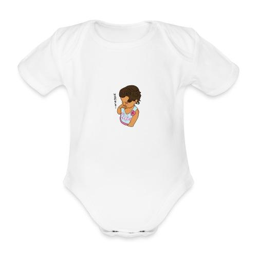 La Baby tiene hamabre - Body orgánico de manga corta para bebé