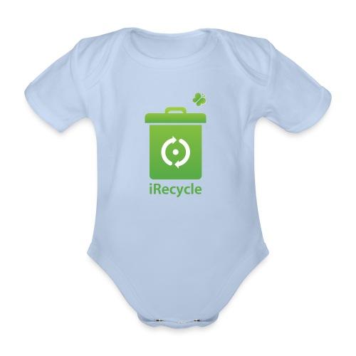 irecycletamelijk - Baby bio-rompertje met korte mouwen