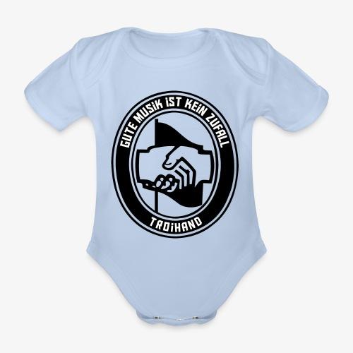 Logo Troihand transparent - Baby Bio-Kurzarm-Body