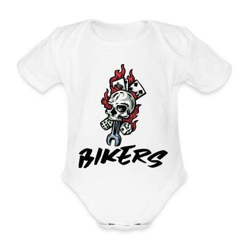 bikers 66 - Body Bébé bio manches courtes