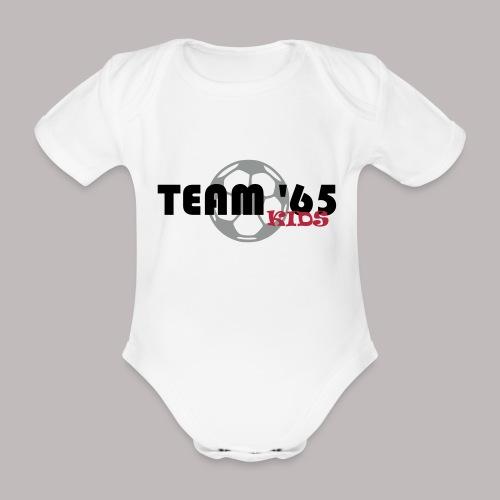 Team 65 Kids - Baby Bio-Kurzarm-Body