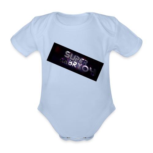 SUPERGABRY04 - Body ecologico per neonato a manica corta