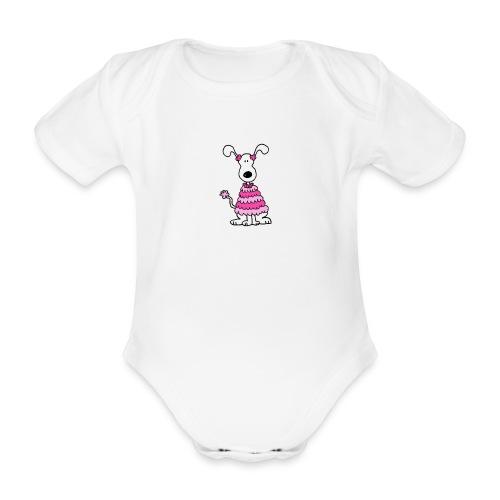 afbeelding3x 012cctest - Baby bio-rompertje met korte mouwen