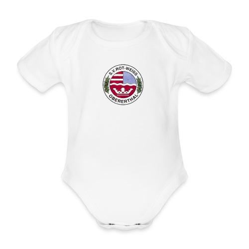 Wappen Farblogo - Baby Bio-Kurzarm-Body