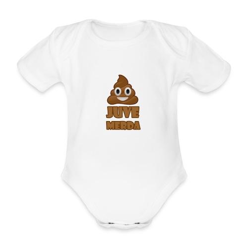 juve merda - Body ecologico per neonato a manica corta