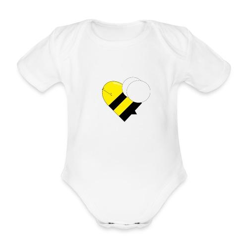 bumblebee shirts - Kortærmet babybody, økologisk bomuld