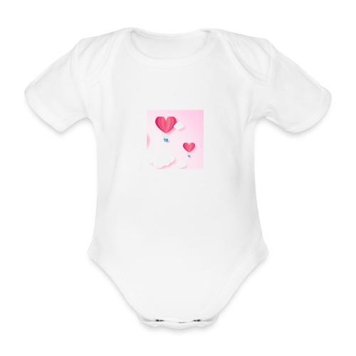 mongolfières - Body bébé bio manches courtes