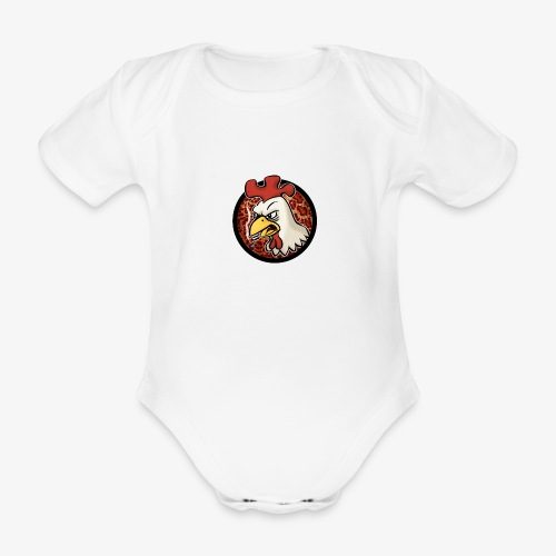 Smokin' Cock - Ekologisk kortärmad babybody