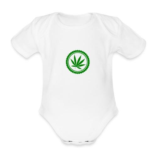 Weed - Baby Bio-Kurzarm-Body