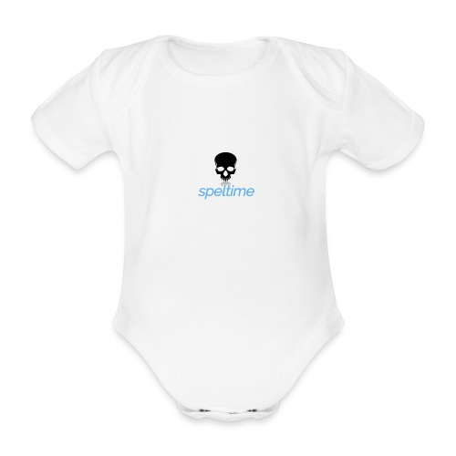 speltime - Ekologisk kortärmad babybody