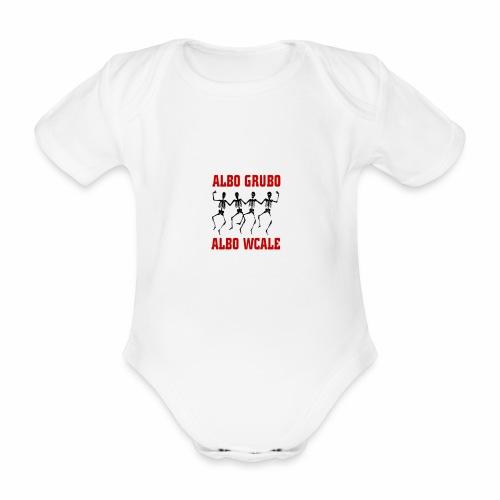 446 5574 przod editor - Ekologiczne body niemowlęce z krótkim rękawem