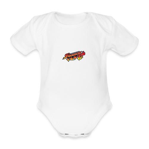 Spilla Svarioken. - Body ecologico per neonato a manica corta