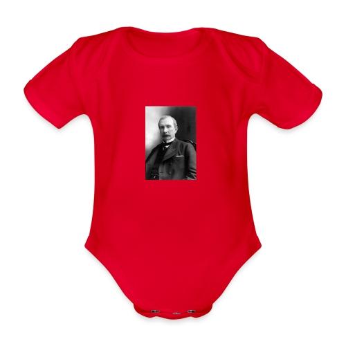 Rockerfeller - Kortærmet babybody, økologisk bomuld