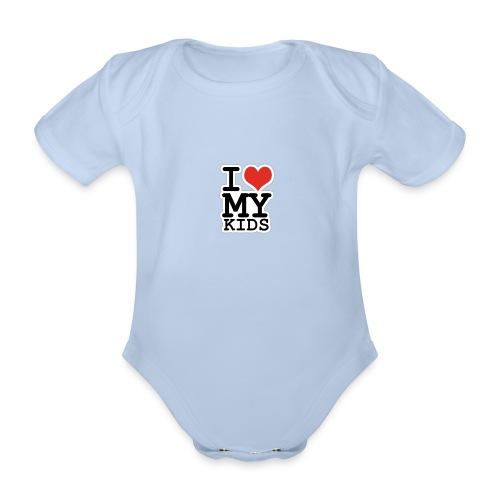 Love To Kids! - Kortærmet babybody, økologisk bomuld