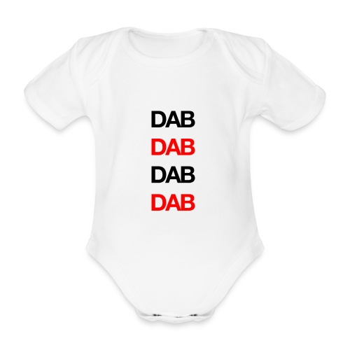 Dab - Organic Short-sleeved Baby Bodysuit