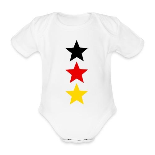 3 Sterne Deutschland #1 - Baby Bio-Kurzarm-Body