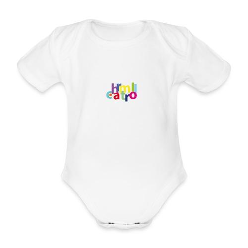 Charmtroll - Organic Short-sleeved Baby Bodysuit
