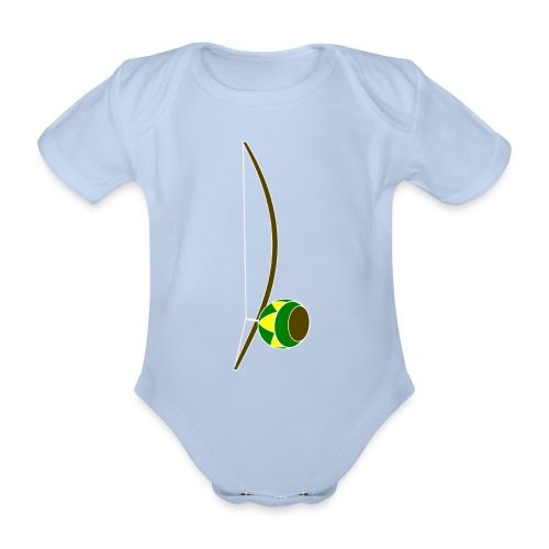 Berimbau - Organic Short-sleeved Baby Bodysuit