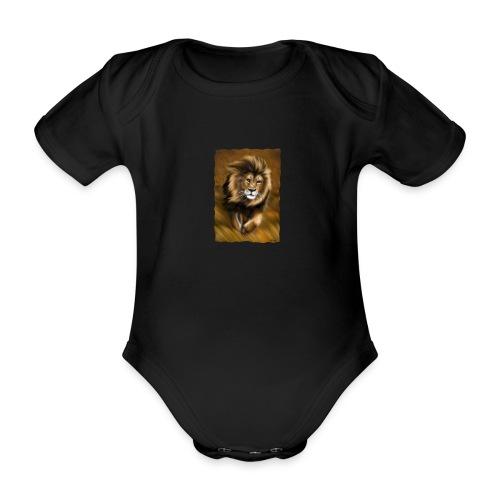 Il vento della savana - Body ecologico per neonato a manica corta