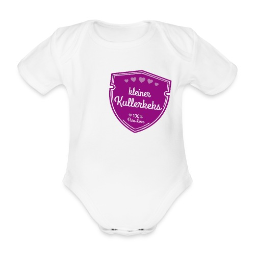 kleiner Kullerkeks - Baby Bio-Kurzarm-Body