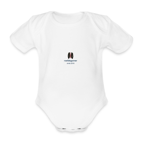 roeldegamer - Baby bio-rompertje met korte mouwen