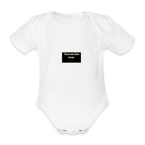 T-shirt staff Delanox - Body Bébé bio manches courtes