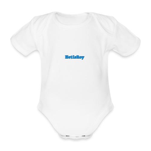 HetIsRoy - Baby bio-rompertje met korte mouwen