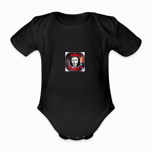 Always TeamWork - Baby bio-rompertje met korte mouwen