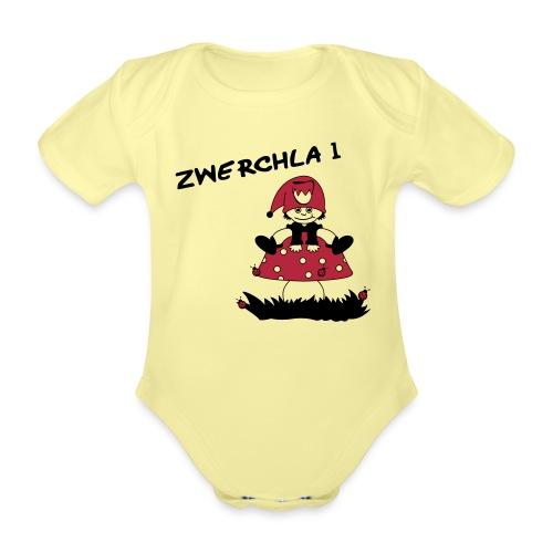 shirt_motive_4 - Baby Bio-Kurzarm-Body
