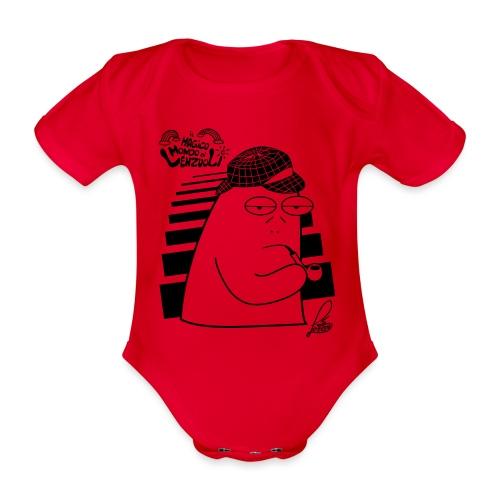 Commissario Pessarotta - Body ecologico per neonato a manica corta