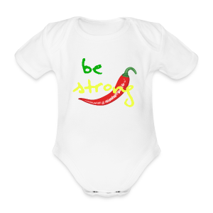 Chilli Collection - Økologisk kortermet baby-body
