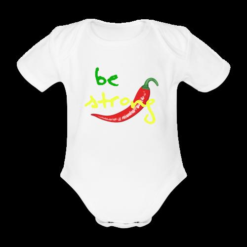Chilli Collection - Økologisk kortermet baby-body