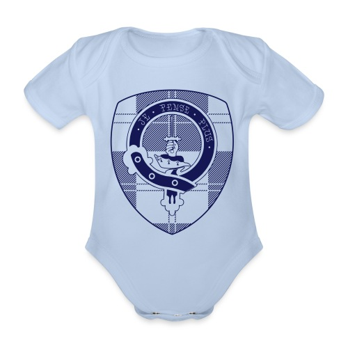 Logo Scouting Erskine 2018 - Baby bio-rompertje met korte mouwen