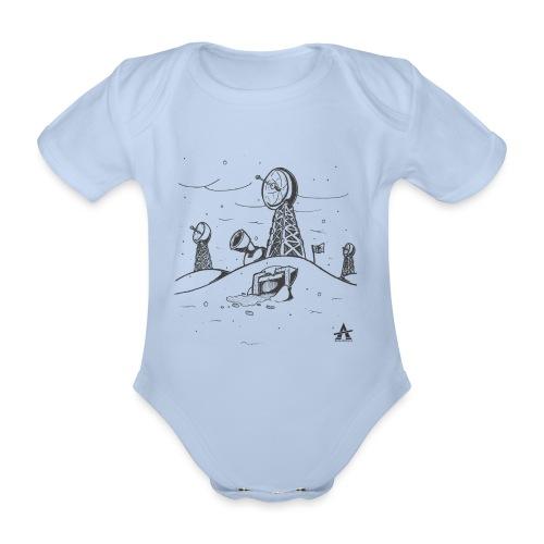ligne de base arctique croquis - Body Bébé bio manches courtes