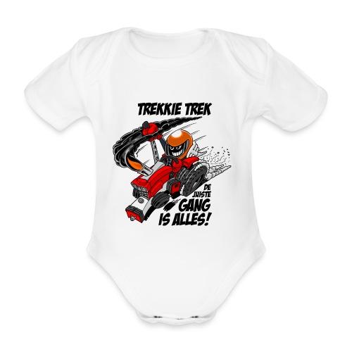 0966 trekkie trek - Baby bio-rompertje met korte mouwen