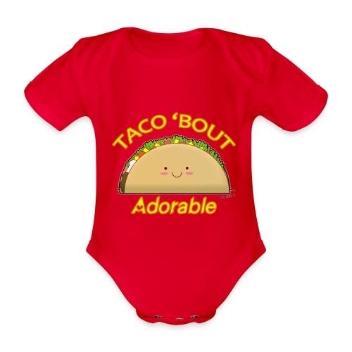 taco - Body ecologico per neonato a manica corta