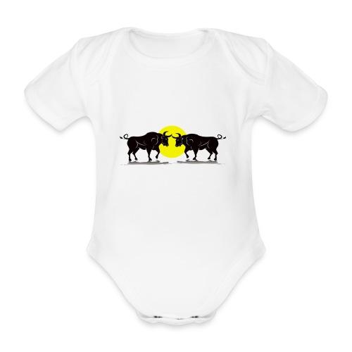 Taurus Bull - Organic Short-sleeved Baby Bodysuit