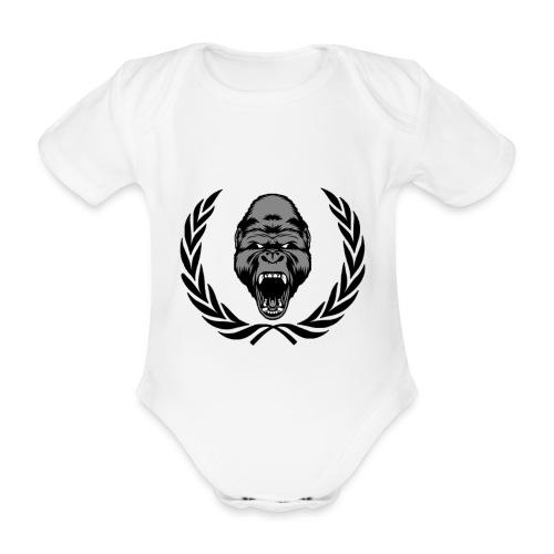 therealkingdomoficial - Body orgánico de manga corta para bebé
