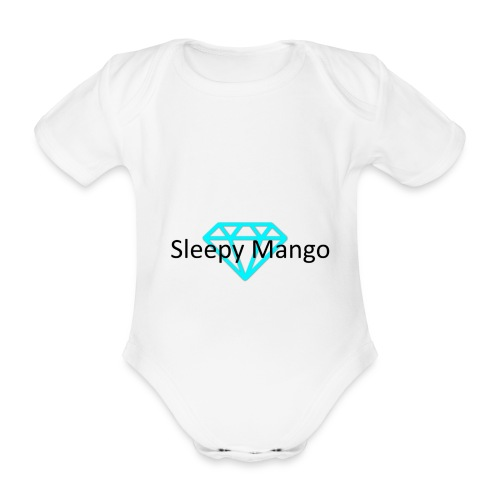 SleepyMango - Organic Short-sleeved Baby Bodysuit