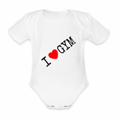 LOVE GYM - Body ecologico per neonato a manica corta