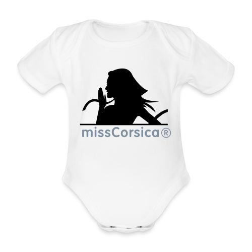 missCorsica 2B - Body Bébé bio manches courtes