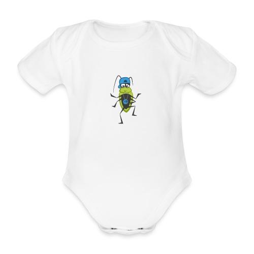 Wanze (Hip Hop) - Baby Bio-Kurzarm-Body