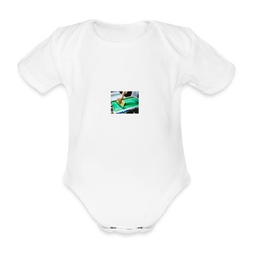 descarga - Body orgánico de maga corta para bebé