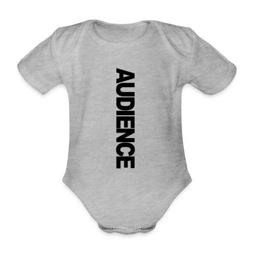 audienceiphonevertical - Organic Short-sleeved Baby Bodysuit