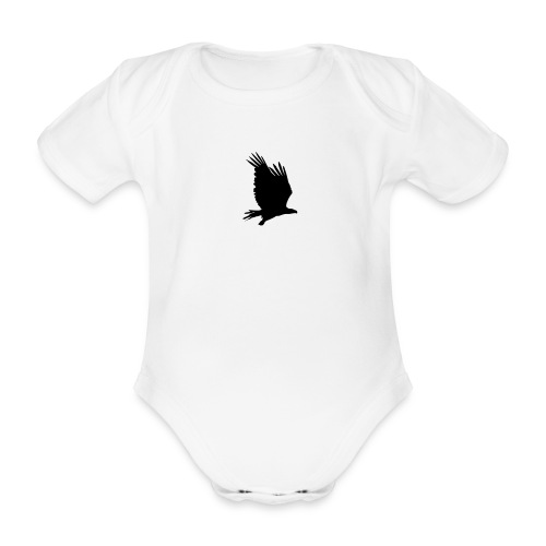 Tirolerbergluft pur (großer Adler) - Baby Bio-Kurzarm-Body